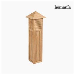 Lanterne pour Jardin Teck by Homania