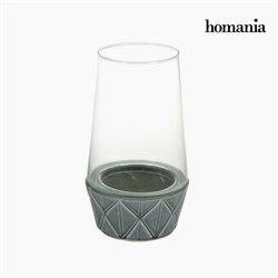 Candelabra Ceramic Crystal - New York Collection by Homania