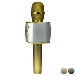 Microfono Karaoke Sing & Go 2000 mAh 6W Dorato