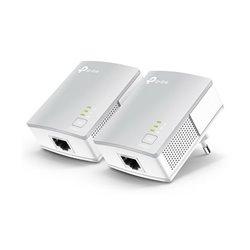 Adattatore PLC Wifi TP-Link TL-PA4010KIT-UK 500 Mbps (2 pcs) Bianco