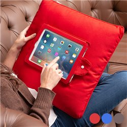 Coussin pour iPad Bleu