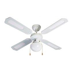 Ventilateur de Plafond avec Lumière Grupo FM VT-CLASSIC-105B 50W Blanc