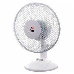 Ventilateur de Bureau Grupo FM S-123 30W Blanc