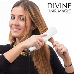 Escova de Alisamento Elétrica Divine Hair Magic