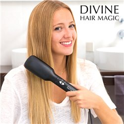 Escova Alisadora Elétrica Iondict Divine Hair Magic