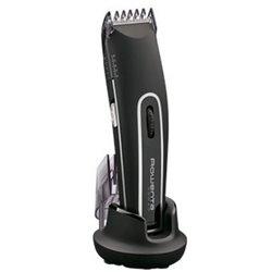 Rowenta TN 1410 tondeuse à cheveux Noir, Argent Rechargeable