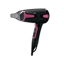 Rowenta CV3812 Haartrockner Schwarz, Pink 1700 W