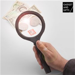 Gadget and Gifts Reading Magnifying Glass with LED light
