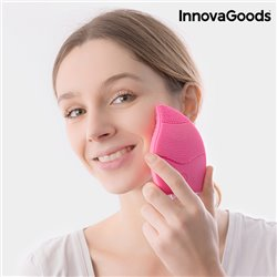 InnovaGoods Silicone Facial Cleaner-Massager