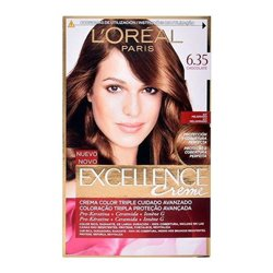 Teinture permanente Excellence L'Oreal Expert Professionnel Chocolat