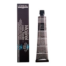 Tinta Permanente Majirel Cool-cover L'Oreal Expert Professionnel Châtain clair