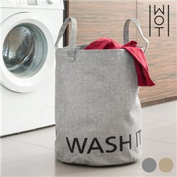 Bag for Dirty Laundry Washit Wagon Trend Beige