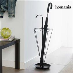 Homania Schwarzer Metall Regenschirmständer