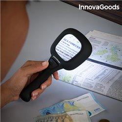Lente di Ingrandimento con Luce LED e Ultravioletta 3X InnovaGoods