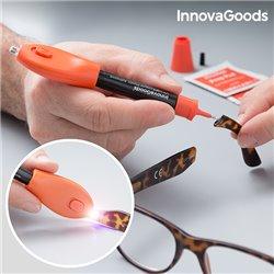 Plastique Liquide de Soudage Rapide avec Lumière UV InnovaGoods