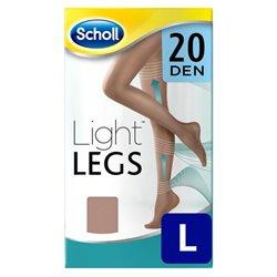 Dr Scholl 20 Den Natural Light Compression Stockings - L