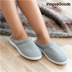 InnovaGoods Comfort Bamboo Gel Slippers M