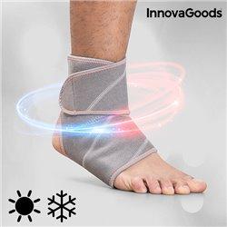 InnovaGoods Knöchelbandage mit Wärme und Kälte Gelkissen