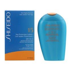 Shiseido Écran solaire visage Sun Protection Anti Aging Spf 15 (150 ml)