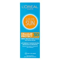 L'Oreal Make Up Sun Cream Sublime Sun Spf 30 (75 ml)