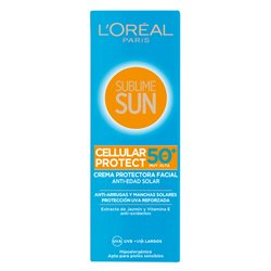 L'Oreal Make Up Sun Cream Sublime Sun Spf 50 (75 ml)