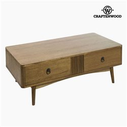 Table Basse Teck Mdf Marron - Collection Be Yourself by Craftenwood
