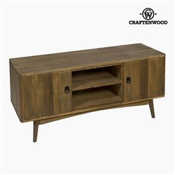 TV Table Teak Mdf Brown - Be Yourself Collection by Craftenwood