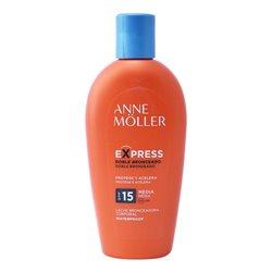 Bräunungsmittel Express Anne Möller Spf 15 (200 ml)