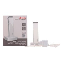 Aparadores de Cabelo Aeg 220-240 V Branco