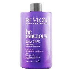 Acondicionador Nutritivo Be Fabulous Revlon (750 ml) Cabellos finos