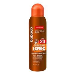 Spray Bronzeador Express Babaria Spf 20 (200 ml)
