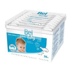 Coton-Tiges de Sécurité en Coton Baby Bel (56 uds)