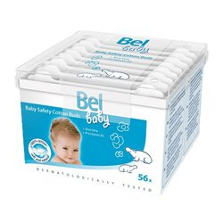 Cotonetes de Segurança de Algodão Baby Bel (56 uds)