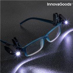 InnovaGoods 360º LED Leselicht für die Brille (2er Pack)