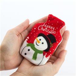 Chauffe-Mains avec Housse de Noël Merry Christmas