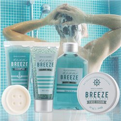 Breeze Toilet Set for Men