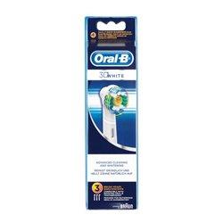 Oral-B EB 18-3 3 pieza(s) Azul, Blanco