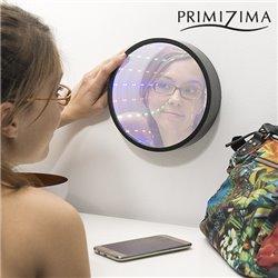 Espelho Túnel LED Multicores Primizima