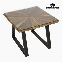 Table Basse Carré Bois - Collection Autumn by Craftenwood