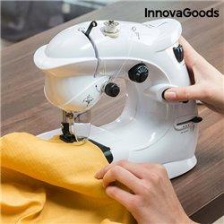 Máquina de Coser Compacta InnovaGoods 6 V 1000 mA Blanco