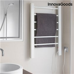 InnovaGoods Electric Towel Rack for Floor or Wall 90W White (6 Bars)