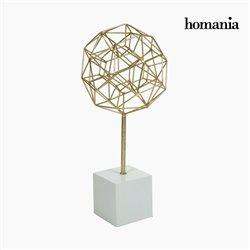 Decorative Figure Polyhedron Gold by Homania