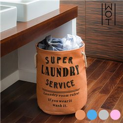 "Saco para Roupa Suja Super Laundry Service Wagon Trend ""Cor de Rosa"""