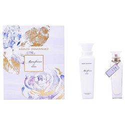 Conjunto de Perfume Mulher Agua Fresca De Rosas Adolfo Dominguez 129521 (2 pcs)