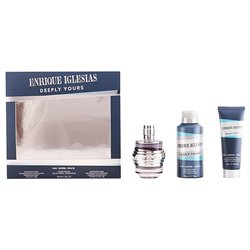 Men's Perfume Set Enrique Iglesias Deeply Yours Man Singers 92535 (3 pcs)