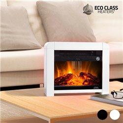 Eco Class Heaters EF 1200 W Elektrische Micathermische Heizung Schwarz