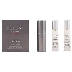 Men's Perfume Set Allure Homme Sport Chanel (3 pcs)