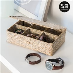 Oh My Home Rattan Organiser Box