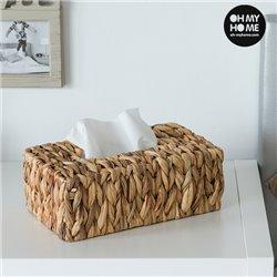 Caja de Pañuelos de Hoja de Maíz Oh My Home