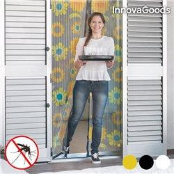 InnovaGoods Anti-Mosquito Curtain Flowers